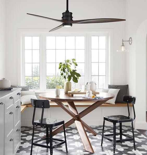 Best 10+ Kitchen Ceiling Fans Ideas On Pinterest | Screen For Regarding Dining Tables Ceiling Lights (Image 2 of 20)