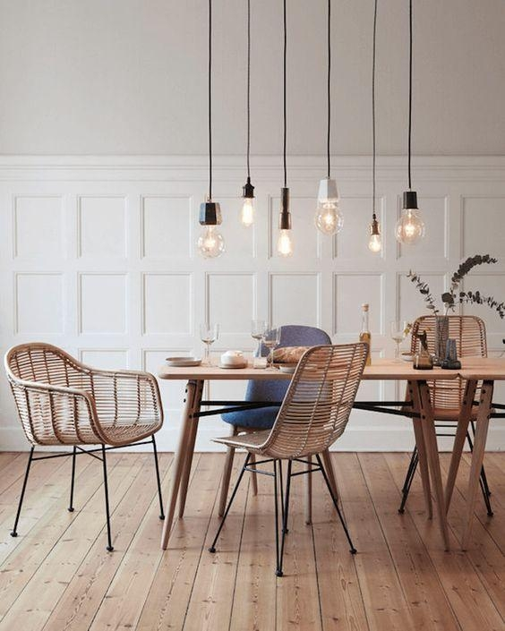 Best 10+ Rattan Dining Chairs Ideas On Pinterest | House Doctor Pertaining To Rattan Dining Tables And Chairs (Image 3 of 20)