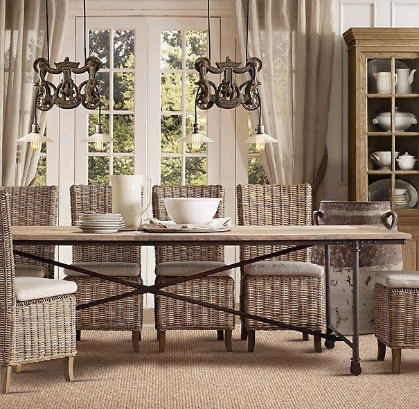 Best 10+ Rattan Dining Chairs Ideas On Pinterest | House Doctor With Regard To Rattan Dining Tables And Chairs (Image 4 of 20)