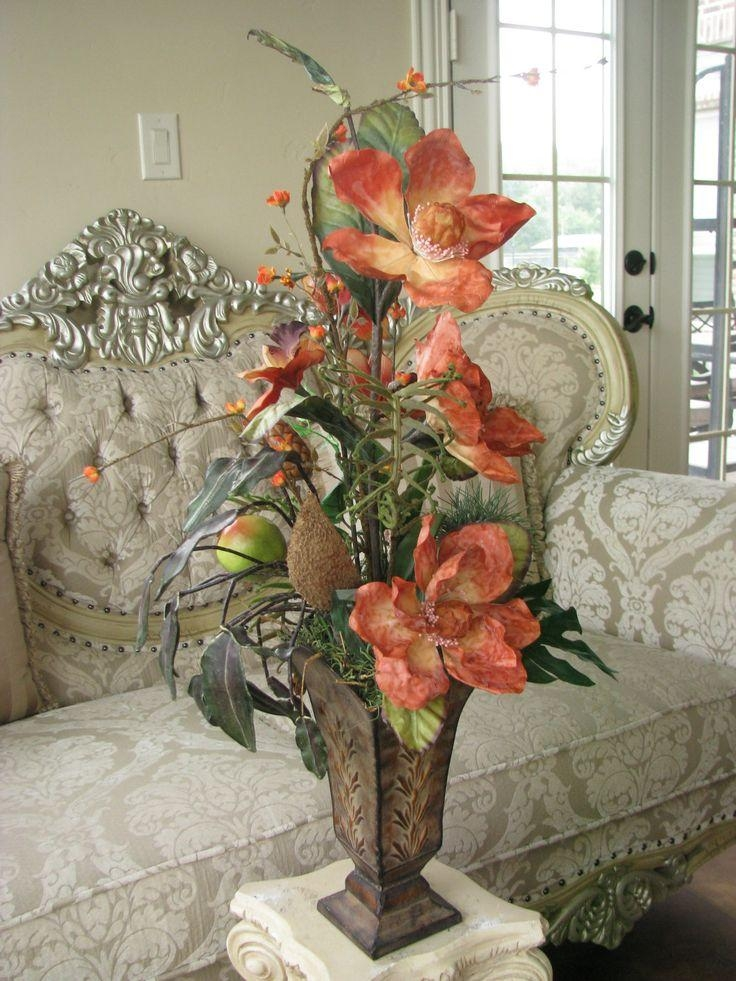 Best 10+ Silk Floral Arrangements Ideas On Pinterest | Silk Flower In Artificial Floral Arrangements For Dining Tables (Image 7 of 20)