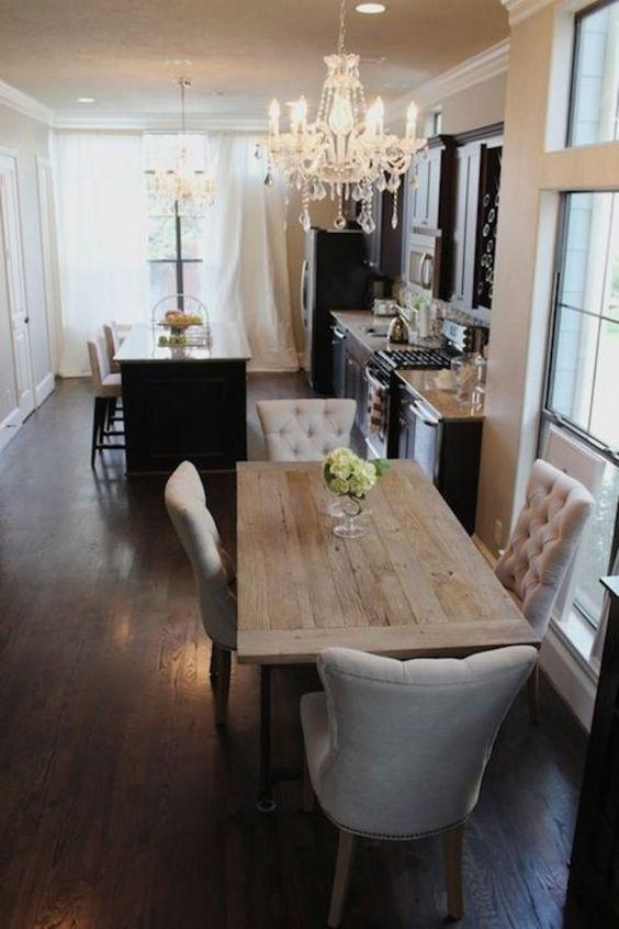 Best 10+ Small Dining Tables Ideas On Pinterest | Small Table And In Thin Long Dining Tables (Image 3 of 20)
