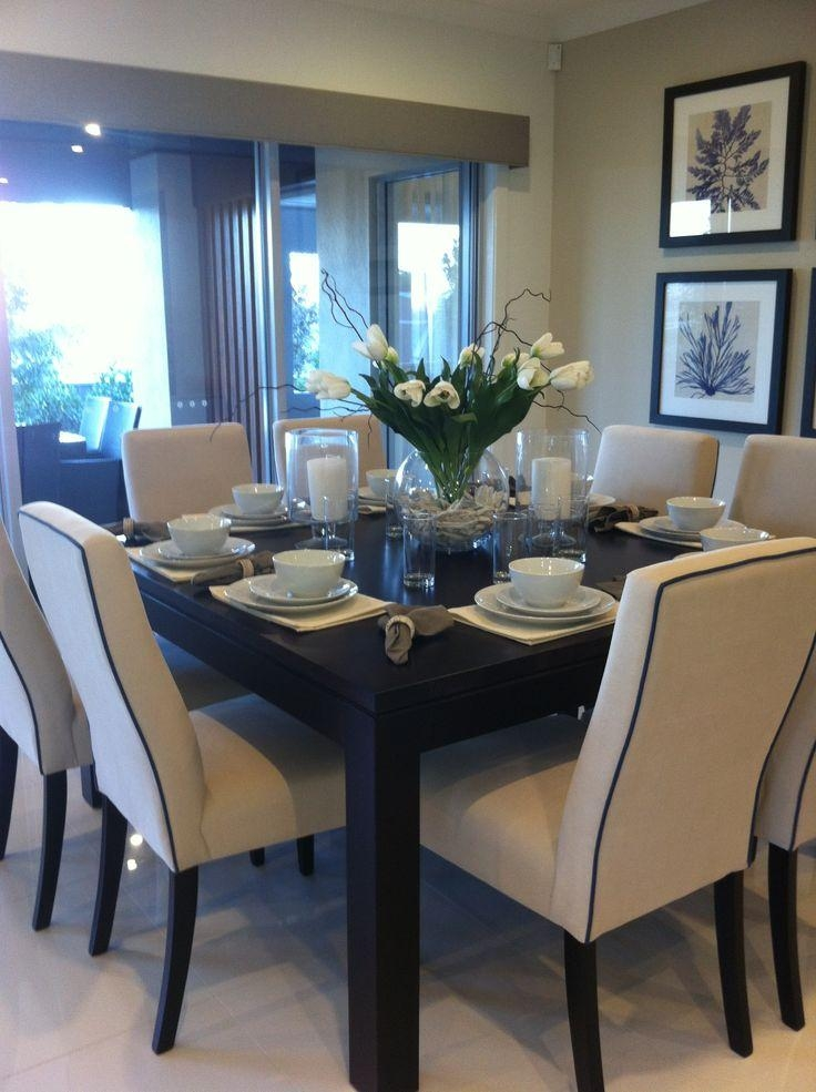 Best 20+ 8 Seater Dining Table Ideas On Pinterest | Made To Inside 8 Seater Round Dining Table And Chairs (View 12 of 20)