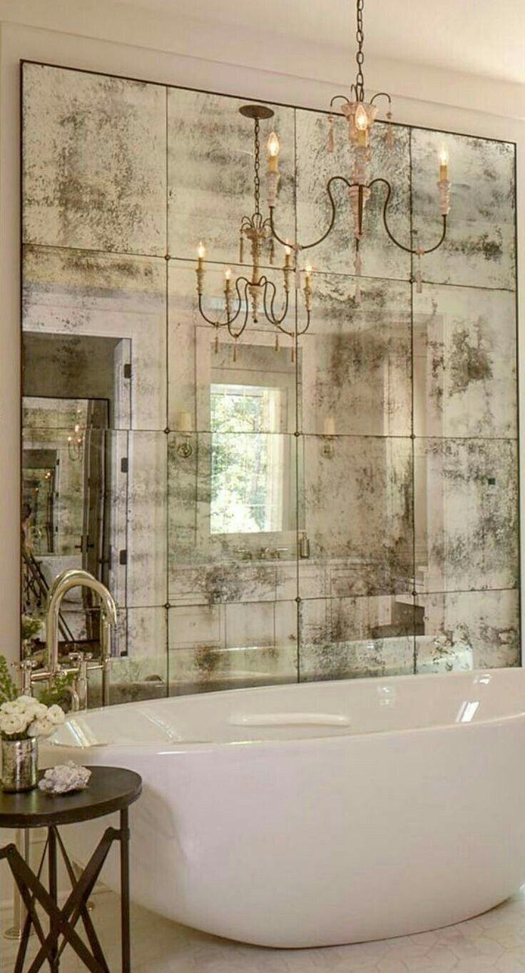 Best 20+ Antique Mirror Glass Ideas On Pinterest | Antiqued Mirror Regarding Big Antique Mirrors (Image 7 of 20)