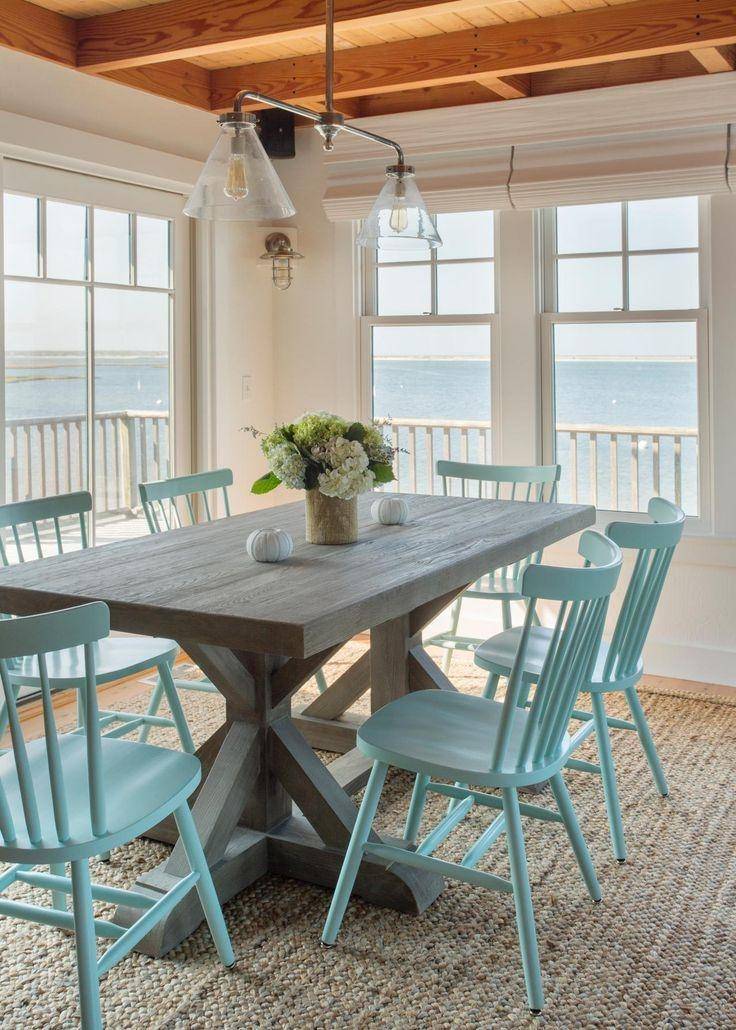 Best 20+ Beach Style Dining Tables Ideas On Pinterest | Beach Intended For Coastal Dining Tables (Image 5 of 20)