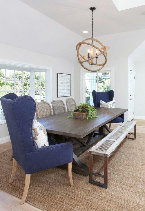 Best 20+ Beach Style Dining Tables Ideas On Pinterest | Beach Throughout Coastal Dining Tables (Image 8 of 20)