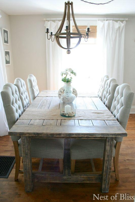 Best 20+ Beach Style Dining Tables Ideas On Pinterest | Beach With Coastal Dining Tables (View 19 of 20)