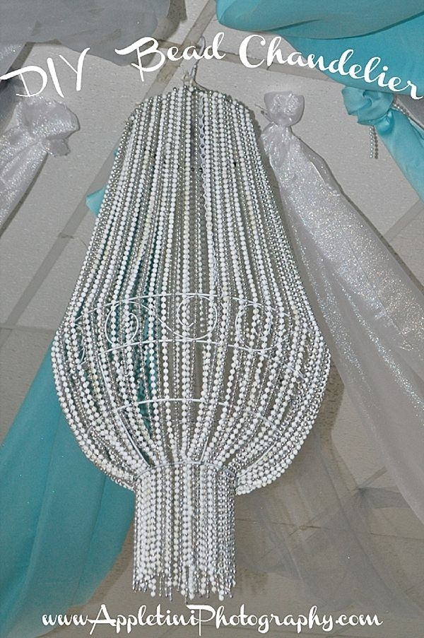 Best 20 Bead Chandelier Ideas On Pinterest Beaded Chandelier For DIY Turquoise Beaded Chandeliers (Image 12 of 25)