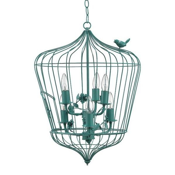 Best 20 Birdcage Chandelier Ideas On Pinterest Birdcage Light In Turquoise Birdcage Chandeliers (View 3 of 25)