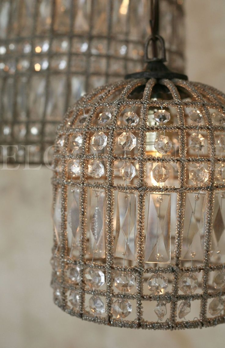 Best 20 Birdcage Chandelier Ideas On Pinterest Birdcage Light With Regard To Lampshade Chandeliers (Image 5 of 25)