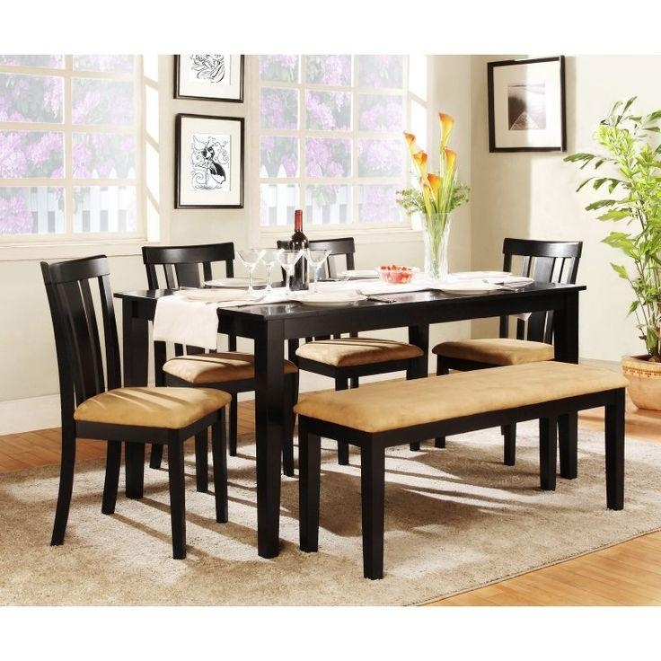 Best 20+ Black Dining Table Set Ideas On Pinterest | Farmhouse Throughout Dining Table Sets (View 3 of 20)