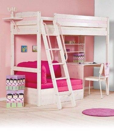 Best 20+ Bunk Bed With Desk Ideas On Pinterest | Girls In Bed With Bunk Bed With Sofas Underneath (Image 2 of 20)