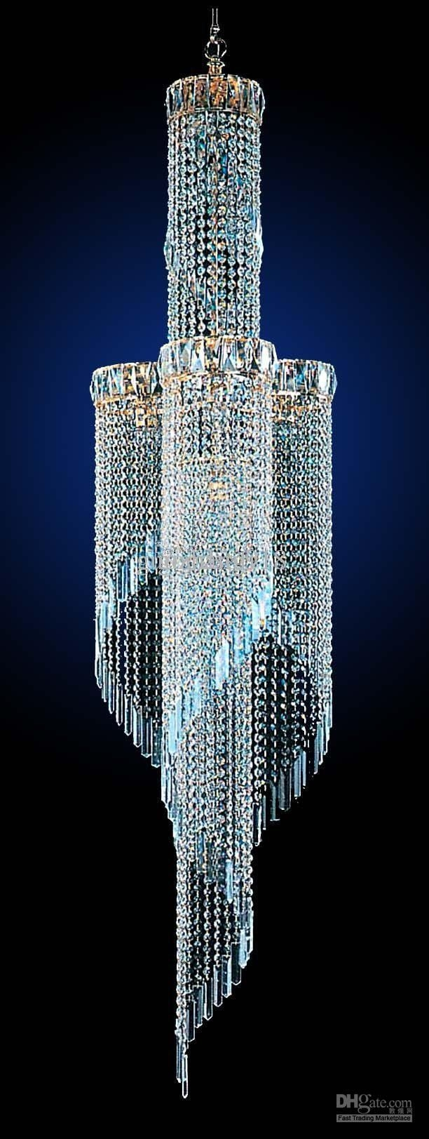 Best 20 Crystal Chandeliers Ideas On Pinterest Elegant Within Sparkly Chandeliers (Image 4 of 25)