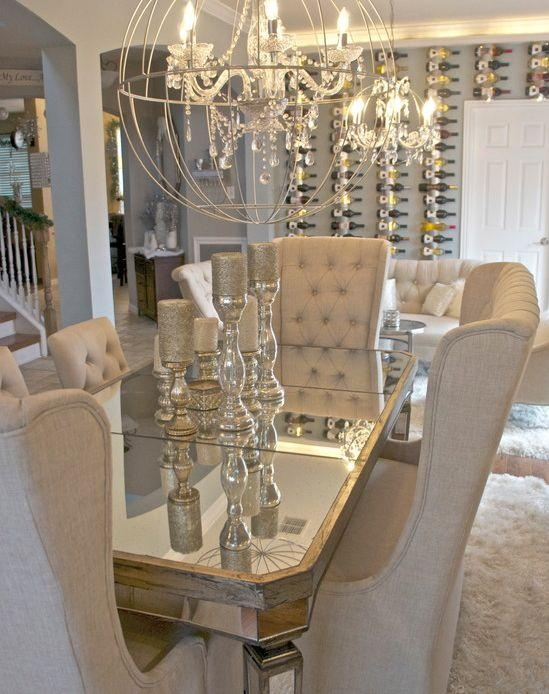 Best 20+ Dining Table Centerpieces Ideas On Pinterest | Dining With Regard To Mirror Glass Dining Tables (View 15 of 20)