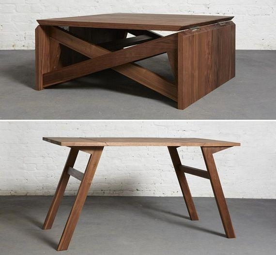 Best 20+ Foldable Table Ideas On Pinterest | Space Saving Table With Regard To Dining Tables With Fold Away Chairs (View 13 of 20)