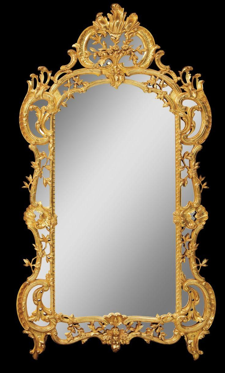 20 Photos Vintage Gold Mirrors | Mirror Ideas
