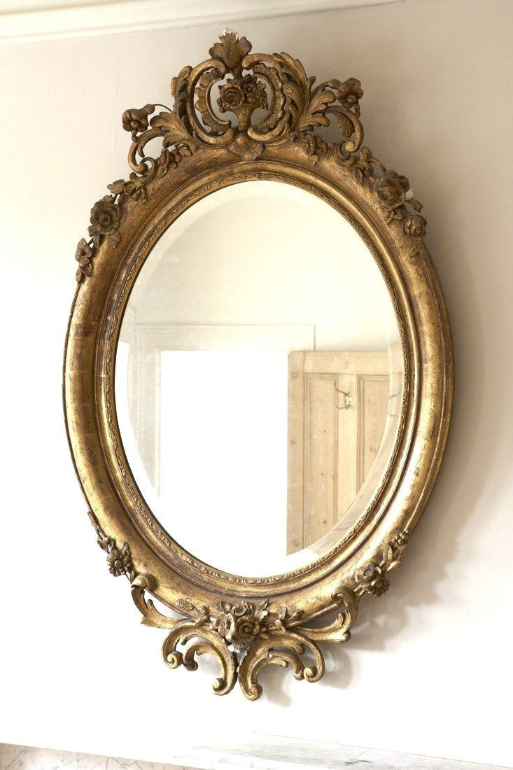 Best 20+ Gold Mirrors Ideas On Pinterest   Mirror Wall Collage Pertaining To Vintage Gold Mirrors (Image 5 of 20)