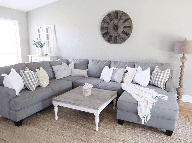 Best 20+ Gray Sectional Sofas Ideas On Pinterest | Family Room Pertaining To Gray Sofas (Image 7 of 20)
