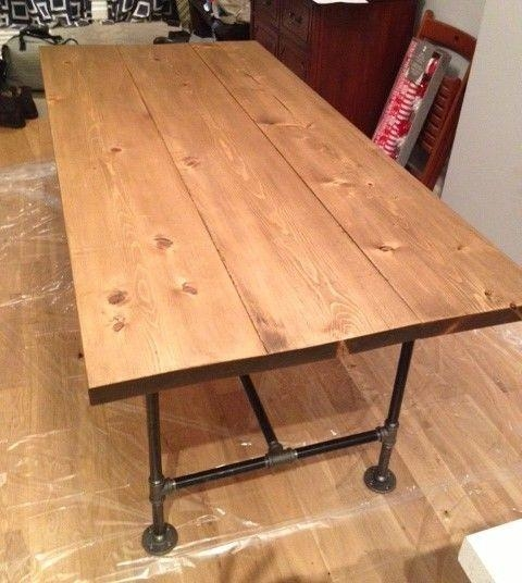 Best 20+ Industrial Style Dining Table Ideas On Pinterest Throughout Industrial Style Dining Tables (Image 2 of 20)