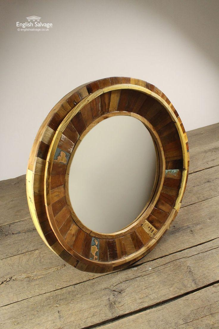 Best 20+ Large Round Mirror Ideas On Pinterest | Large Hallway With Large Bubble Mirror (Image 3 of 20)