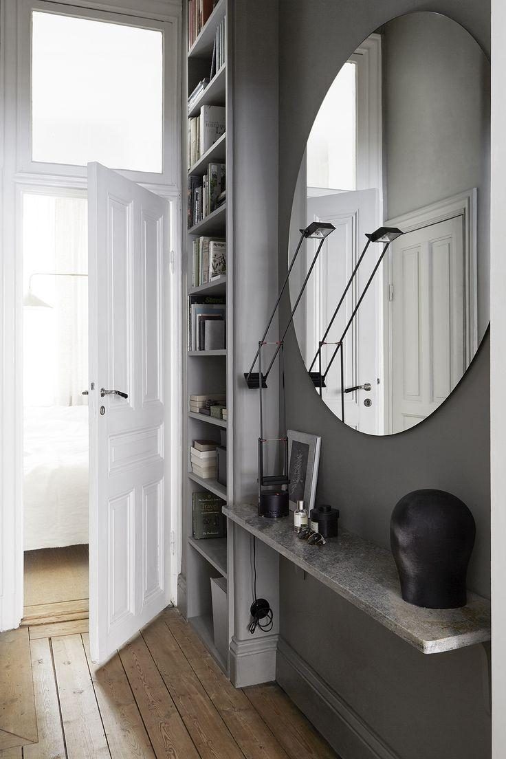 Best 20+ Large Round Mirror Ideas On Pinterest | Large Hallway Within Contemporary Hall Mirrors (Image 3 of 20)