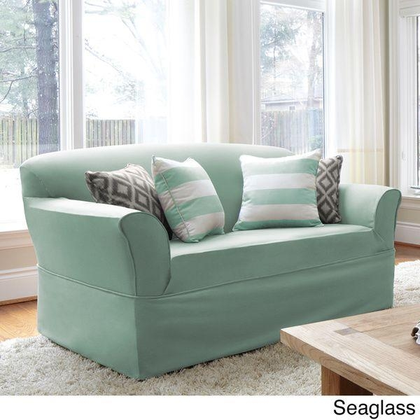 Best 20+ Loveseat Slipcovers Ideas On Pinterest | Farmhouse Futon Within Loveseat Slipcovers 3 Pieces (View 17 of 20)