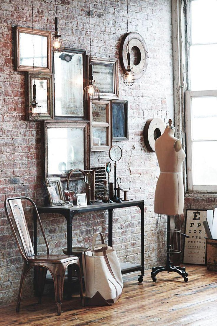 Best 20+ Mirror Wall Collage Ideas On Pinterest | Gallery Wall Within Antique Round Mirrors For Walls (Image 8 of 20)