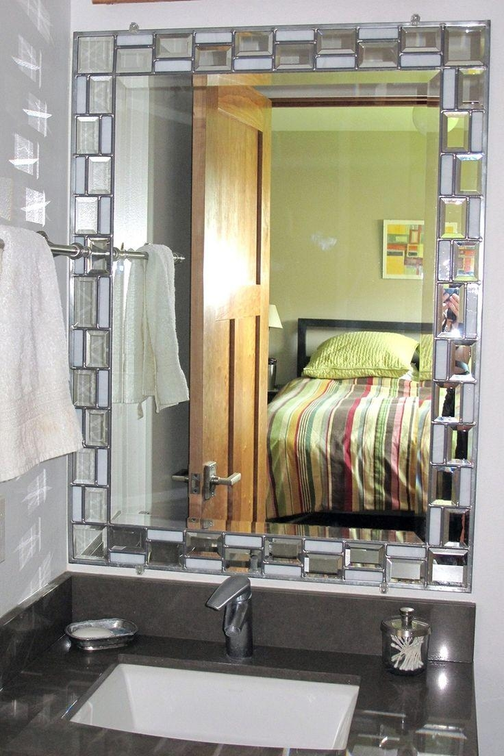 Best 20+ Mirrors For Bathrooms Ideas On Pinterest | Small Full Intended For Small Bevelled Mirror (View 5 of 20)