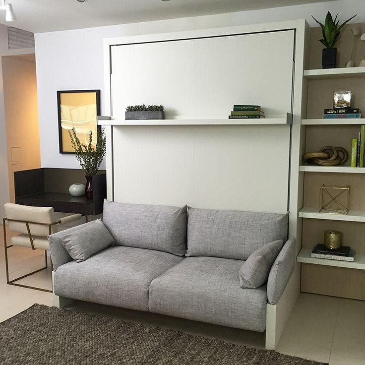 Best 20+ Murphy Bed Couch Ideas On Pinterest | Murphy Beds, Wall With Regard To Sofa Beds With Storage Underneath (Image 2 of 20)