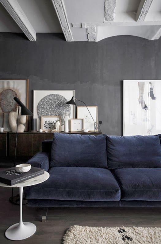 Best 20+ Navy Blue Couches Ideas On Pinterest | Blue Living Room Within Midnight Blue Sofas (Image 8 of 20)