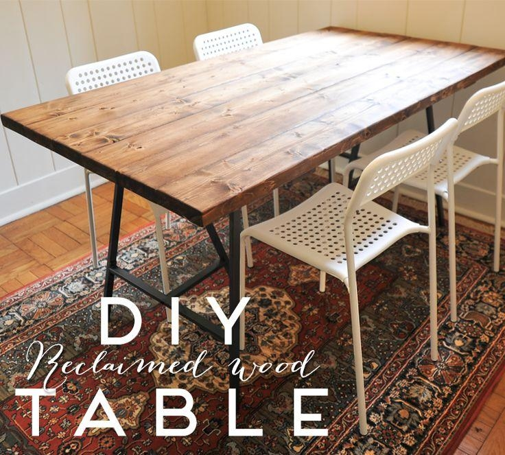 Best 20+ Reclaimed Wood Dining Table Ideas On Pinterest | Rustic With Cheap Reclaimed Wood Dining Tables (View 3 of 20)