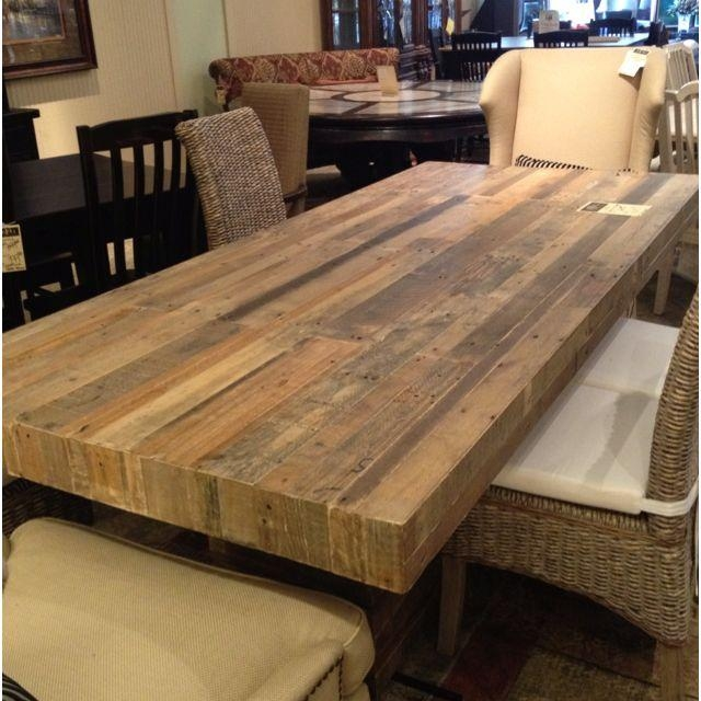 Best 20+ Reclaimed Wood Dining Table Ideas On Pinterest | Rustic With Cheap Reclaimed Wood Dining Tables (View 2 of 20)
