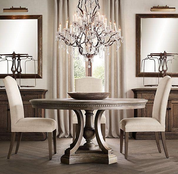 Best 20+ Round Dining Tables Ideas On Pinterest | Round Dining For Circular Dining Tables (Image 4 of 20)