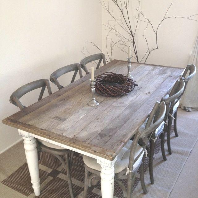 Best 20+ Shabby Chic Dining Ideas On Pinterest | Dining Table With Inside Shabby Dining Tables And Chairs (Image 5 of 20)