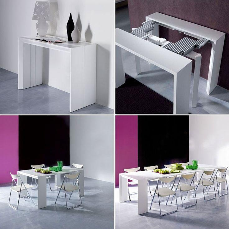 Best 20+ Space Saver Dining Table Ideas On Pinterest | Space Saver Pertaining To Dining Tables With Fold Away Chairs (View 16 of 20)