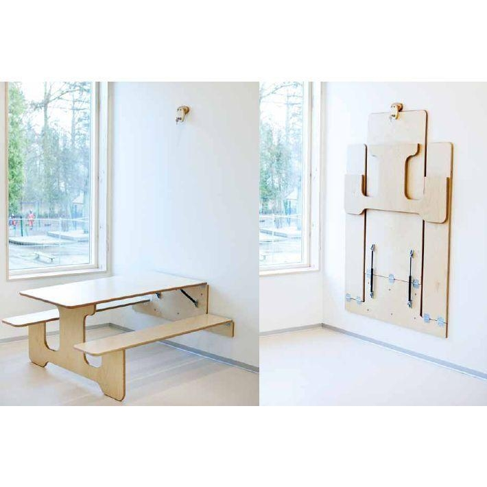 Best 20+ Space Saver Dining Table Ideas On Pinterest | Space Saver With Regard To Dining Tables With Fold Away Chairs (View 18 of 20)