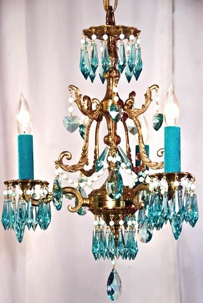 Best 20 Turquoise Chandelier Ideas On Pinterest French Bistro For Turquoise Glass Chandelier Lighting (Image 12 of 25)