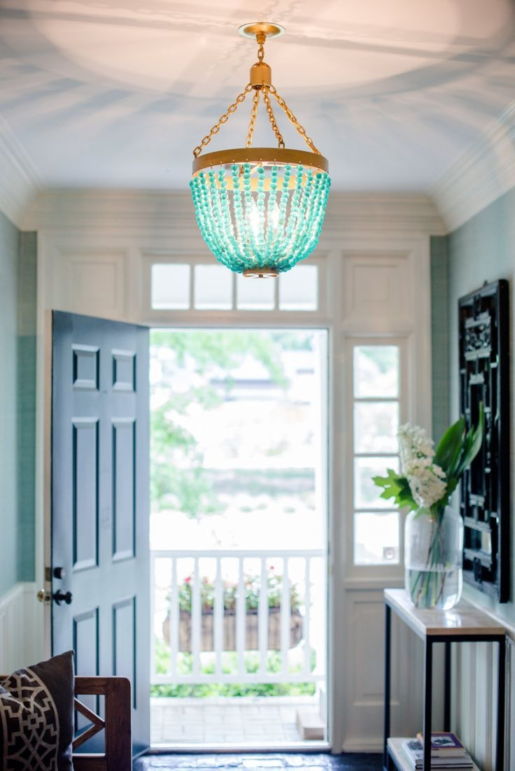 Best 20 Turquoise Chandelier Ideas On Pinterest French Bistro Inside Turquoise Wood Bead Chandeliers (Image 6 of 25)