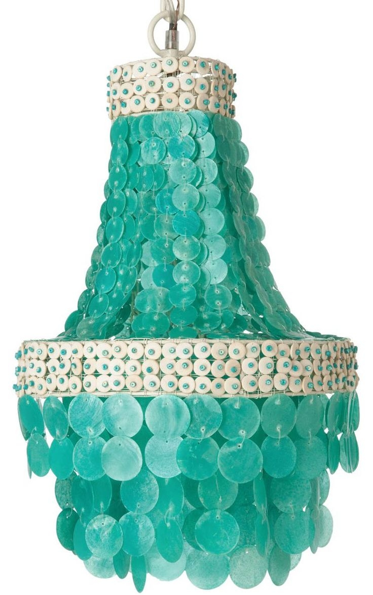 Best 20 Turquoise Chandelier Ideas On Pinterest French Bistro Intended For Small Turquoise Beaded Chandeliers (Image 5 of 25)