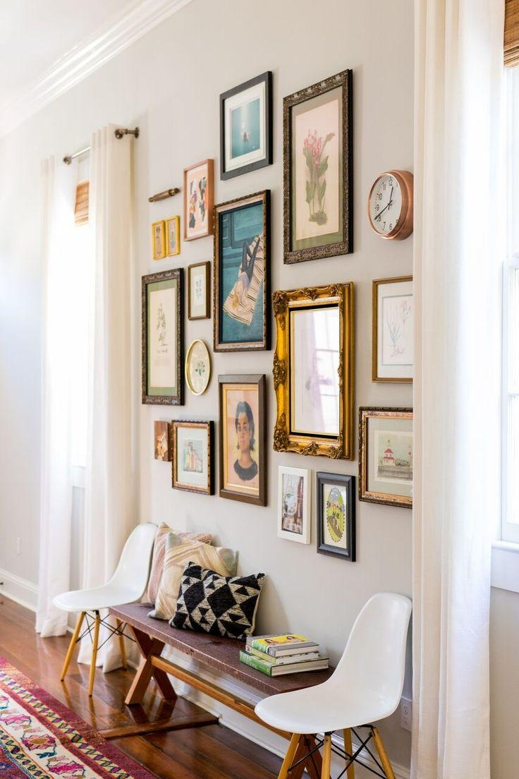 Best 20+ Vintage Frames Ideas On Pinterest | Painted Picture For Retro Wall Mirrors (Image 4 of 20)