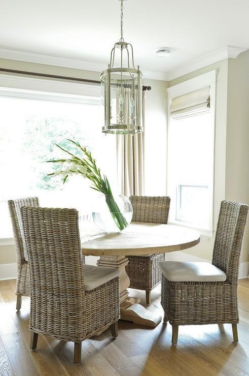 Best 20+ Wicker Dining Chairs Ideas On Pinterest | Eat In Kitchen Regarding Wicker And Glass Dining Tables (Image 2 of 20)