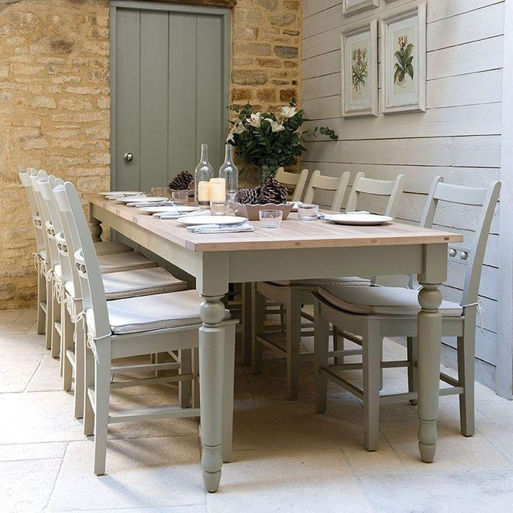 Best 25+ 10 Seater Dining Table Ideas On Pinterest | Round Dining Intended For Country Dining Tables (Image 7 of 20)