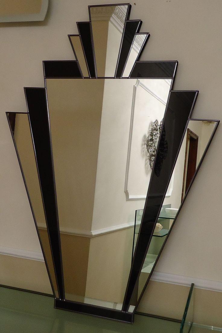 20 inspirations art deco wall mirror mirror ideas. Black Bedroom Furniture Sets. Home Design Ideas