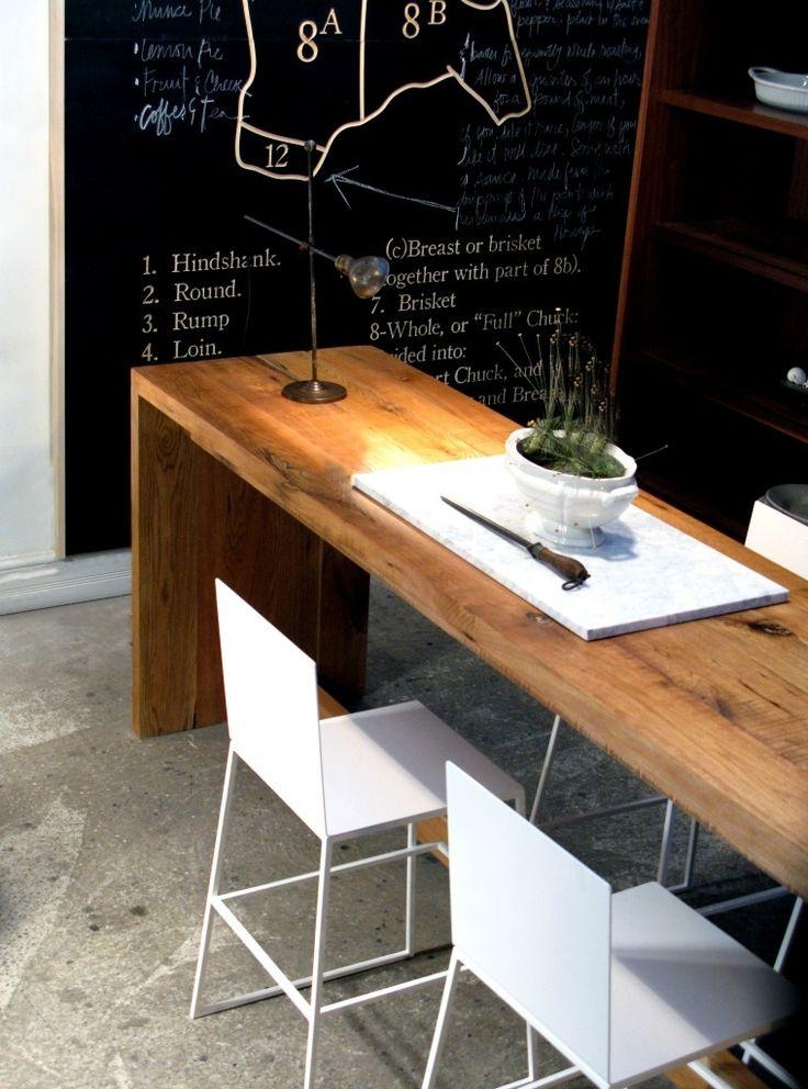 Best 25+ Bar Height Dining Table Ideas On Pinterest | Bar Stools For Thin Long Dining Tables (Photo 3 of 20)