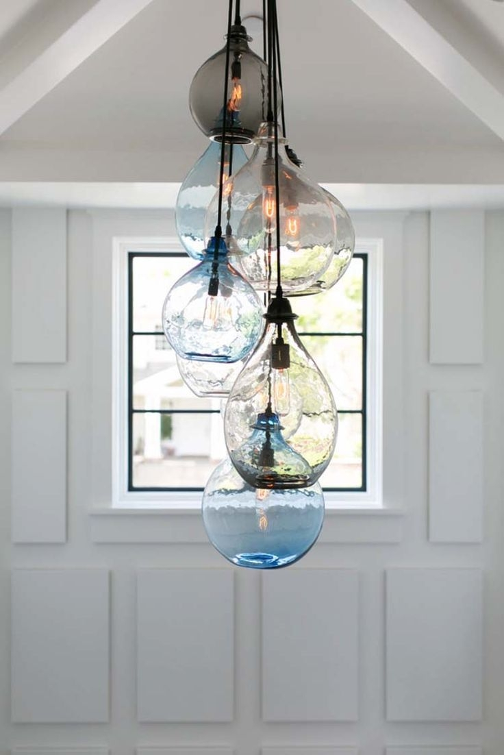 Best 25 Beach Chandelier Ideas On Pinterest Beach Lighting For Turquoise Bubble Chandeliers (Image 5 of 25)