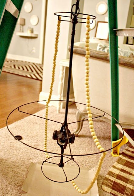 Best 25 Beaded Chandelier Ideas Only On Pinterest Bead Within DIY Turquoise Beaded Chandeliers (Image 16 of 25)