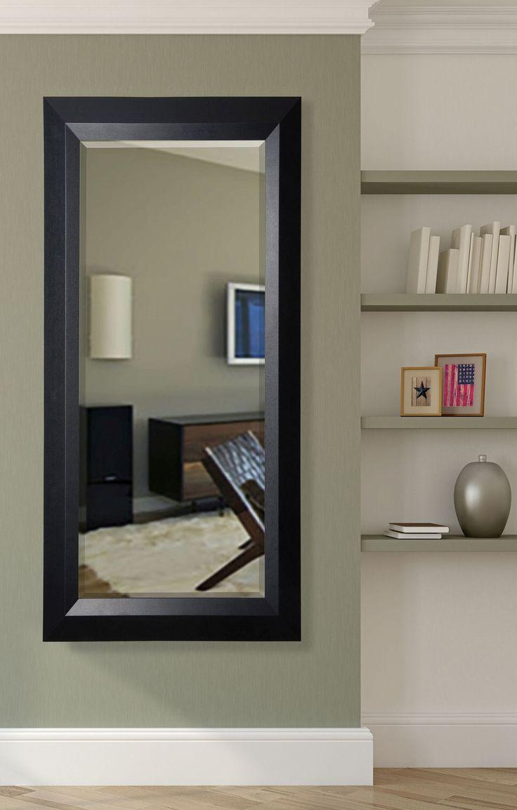 Best 25+ Black Full Length Mirrors Ideas Only On Pinterest Within Beveled Full Length Mirror (Image 4 of 20)