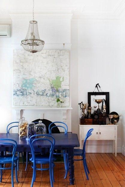 Best 25+ Blue Dining Tables Ideas On Pinterest | Dinning Room Inside Blue Dining Tables (Image 3 of 20)