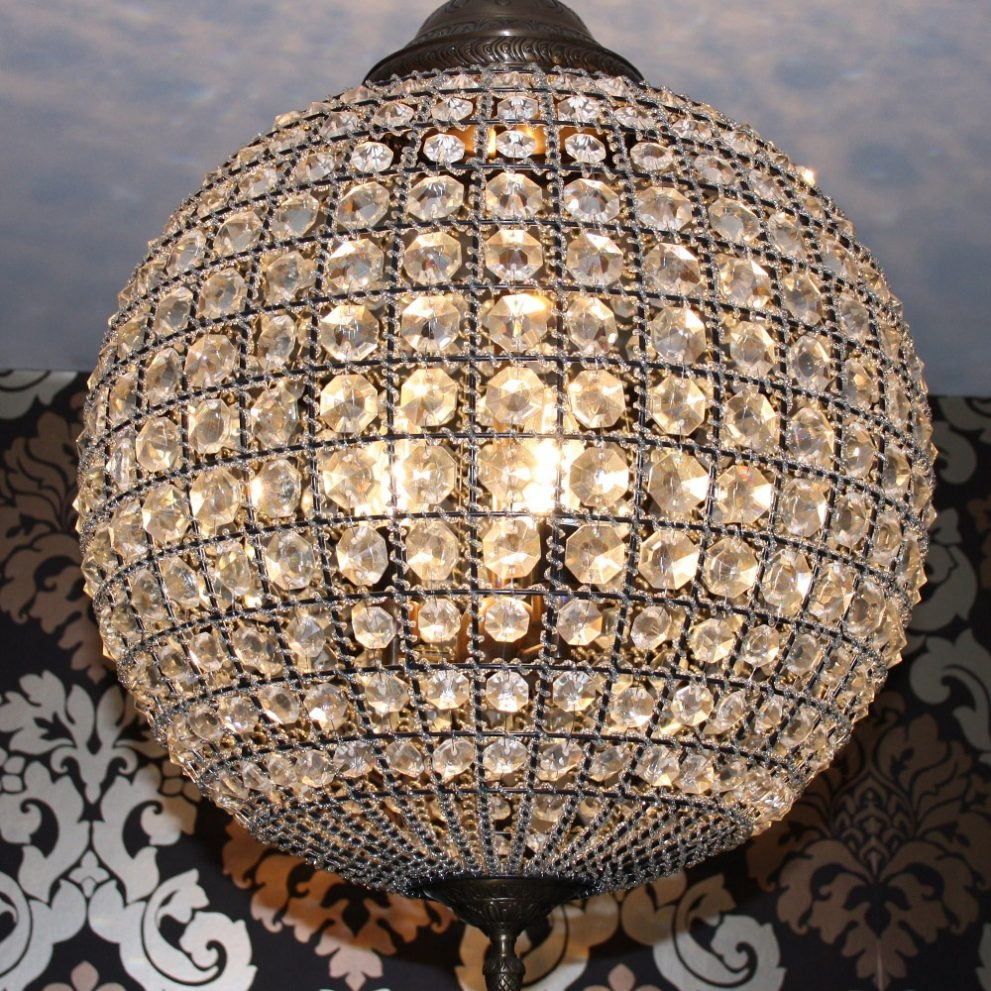 Best 25 Bottle Lamps Ideas On Pinterest Best Ideas Of Wine Ycii Intended For Crystal Ball Chandeliers (Image 4 of 25)