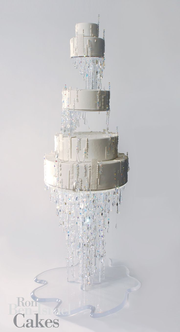Best 25 Chandelier Cake Ideas On Pinterest Pastel Tall Wedding For Stand Up Chandeliers (Image 4 of 25)