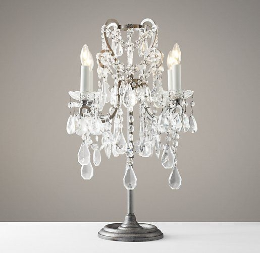 Best 25 Chandelier Table Lamp Ideas On Pinterest Victorian Inside Chandelier Night Stand Lamps (Image 13 of 25)